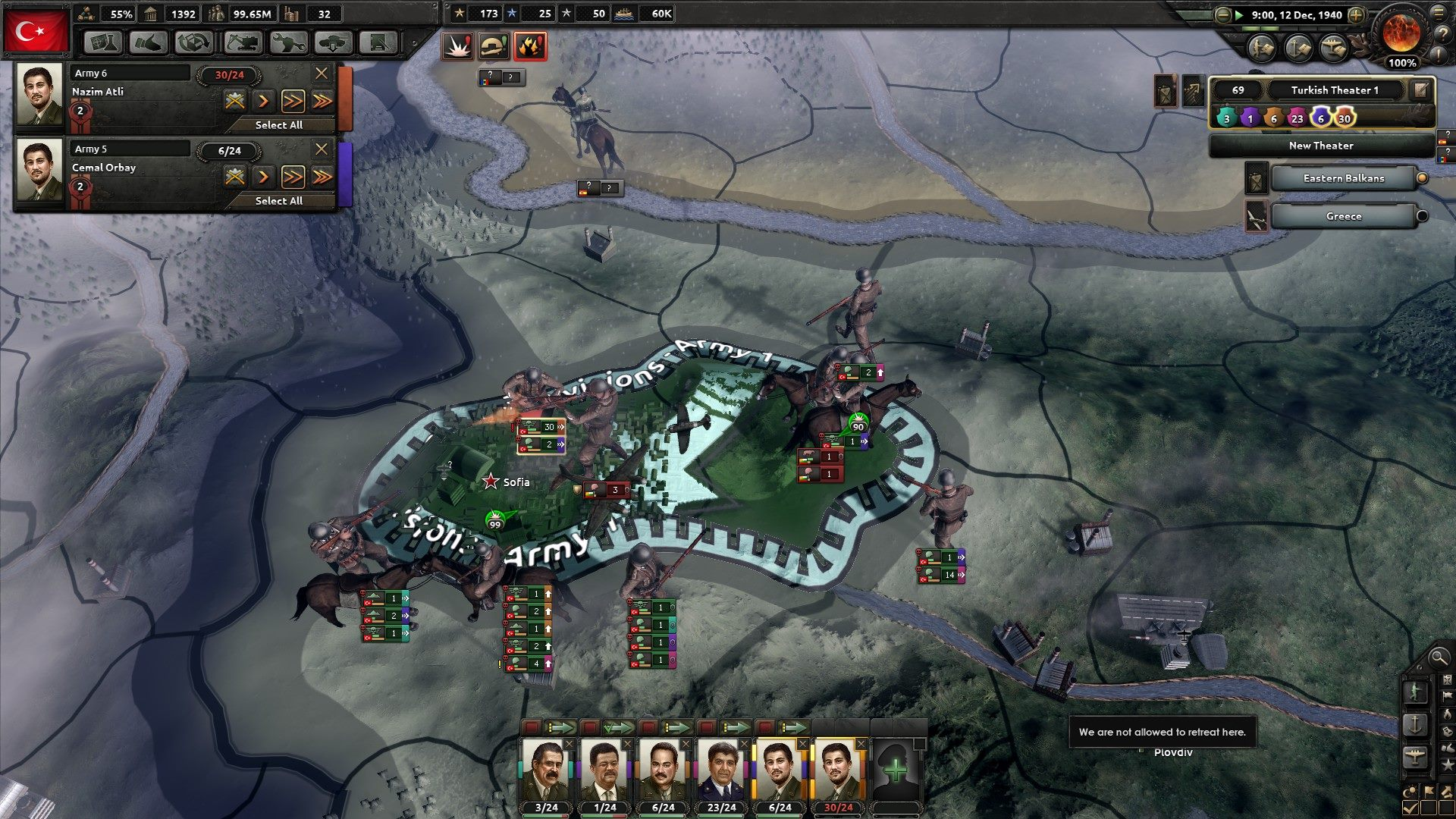 Hearts of Iron IV screenshot